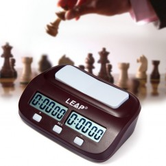 LEAP PQ9907S Professional Digital Chess Clock I-Go Count Up Down Timer