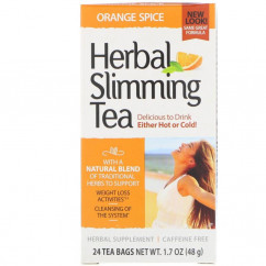 21st Century Herbal Slimming Tea Orange Spice Caffeine Free 24 Tea Bags 1.7 oz (48 g)