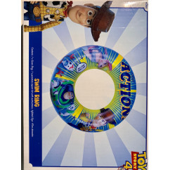 Official Toy Story 4 Disney Pixar Inflatable Swim Ring with Repair Kit - 47 cm