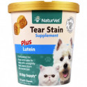 NaturVet Tear Stain for Dogs & Cats Plus Lutein 70 Soft Chews 5.4 oz (154 g)