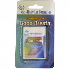 Scandinavian Formulas Good Breath 60 Softgels