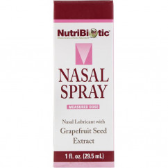 NutriBiotic Nasal Spray with Grapefruit Seed Extract 1 fl oz (29.5 ml)