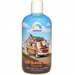 Rainbow Research Kid's Bubble Bath, Unscented, 360 ml