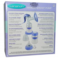 Lansinoh, Manual Breast Pump, 1 Manual Breast Pump and Accessories