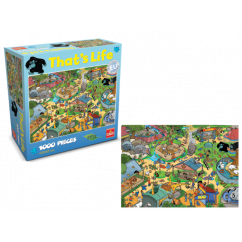 That's Life - Zoo 1000 Pieces Jigsaw Puzzle 12+ Years