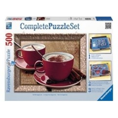 Ravensburger - Time for Cappuccino Puzzle 500pc
