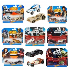 Hot Wheels Official Star Wars Character Cars 2 Pack - Assorted - NEW!