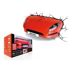 3D FX Deco Light - Sports Car NEW!