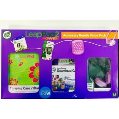 LeapFrog Power Accessory Bundle - Hot Pink NEW!