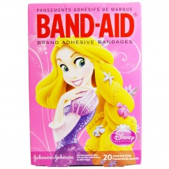 Band Aid, Brand Adhesive Bandages, Disney Princess, 20 Assorted Sizes