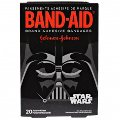 Band Aid, Brand Adhesive Bandages, Star Wars, 20 Assorted Sizes