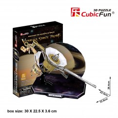 "Cubic Fun - 3D Puzzle: ""Voyager Space Probe""Prodyc"