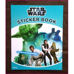 Disney Star Wars Sticker Book NEW!