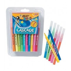 Bic: Kids Cascade Felt Tipped Colouring Pens - Pack of 30