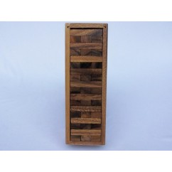 Age Olde - Jenga in a wooden Box Large - 25cm