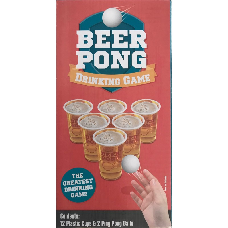 Beer Pong Game 18+ Years