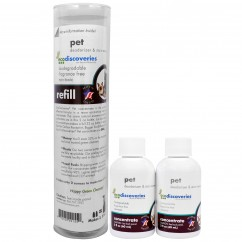 EcoDiscoveries, Pet Deodorizer & Stain Remover, Double Refill Pack, 2 fl oz (60 ml) Each