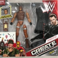 Dean Ambrose - WWE Mattel - Create a Superstar - Wrestling Figures