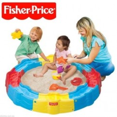 Fisher Price Build N Play Sandbox