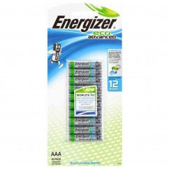 Energizer Eco ADVANCED Batteries 10 Pack AAA