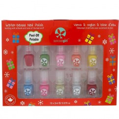 Suncoat Girl, Merry Mini, Mani Kit, 10 Pieces