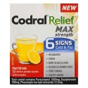 NEW Codral Relief Cold & Flu Drink Max Strength 6 Signs Cold Flu Hot Drink 10Pk