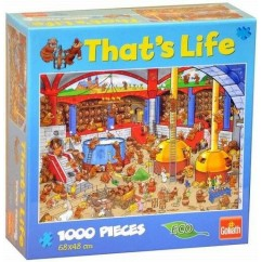 That's Life Collection 1,000 Piece Jigsaw Puzzle - The Brewery